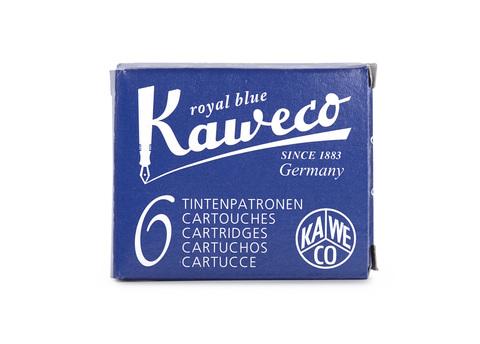 Набор картриджей королевский синий 6 штук в картонной упаковке