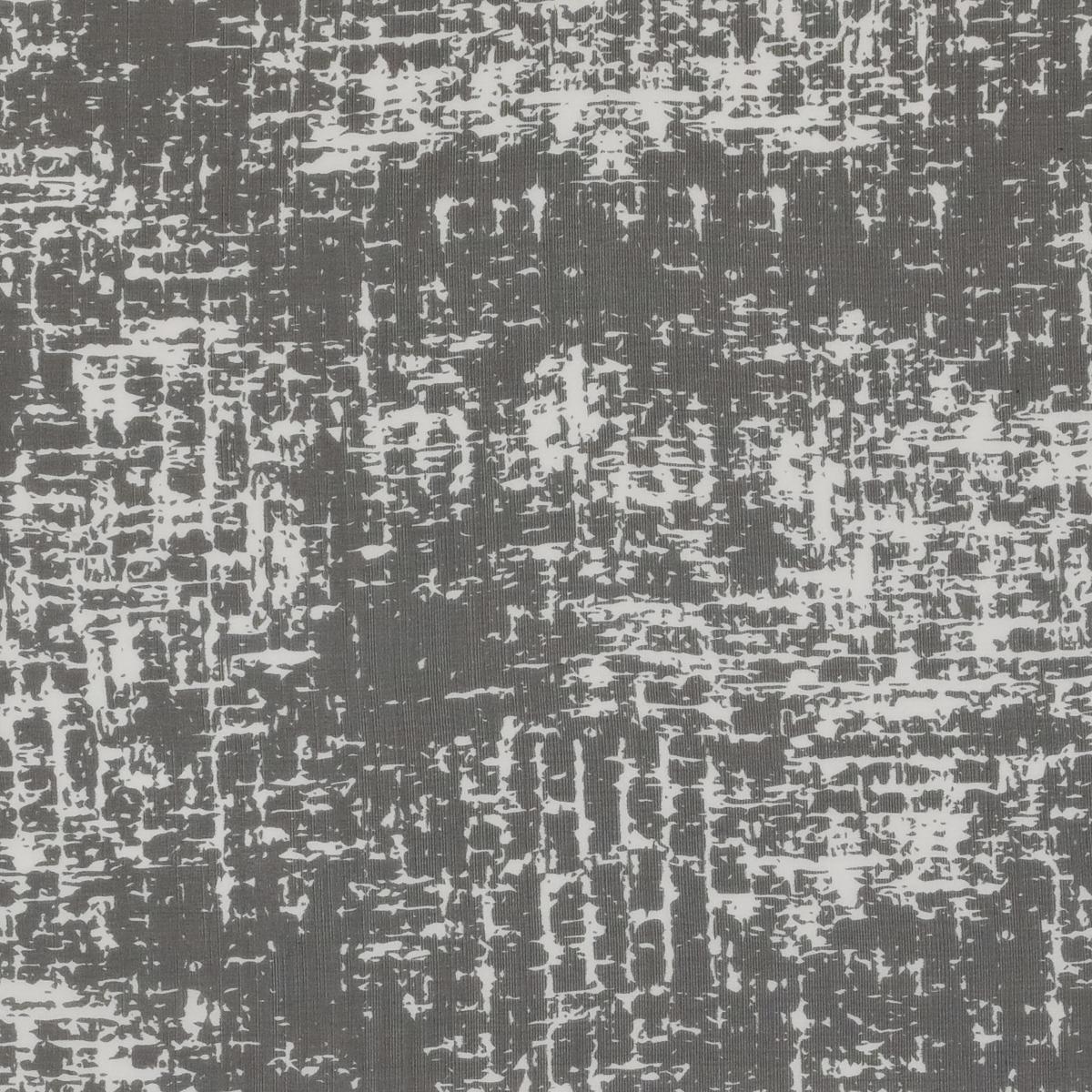 Шёлковый шифон в чёрно-белую рябь