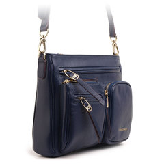 3853 FD кожа синий  (сумка женская)