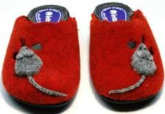 Тапочки из войлока женские Inblu NC- 1B Mouse Rad