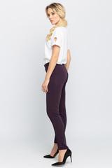 <p>Классические зауженные брюки,. Застежка на пуговице и молнии (Длина 100 см)</p>
