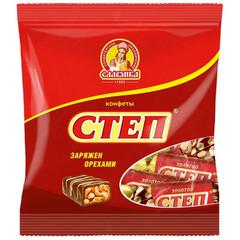 Конфеты шоколадные Славянка Золотой Степ 192 г