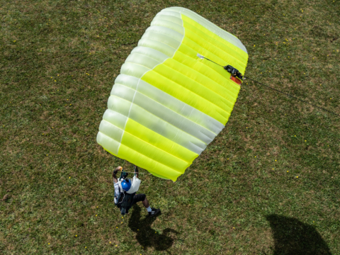 Icarus JFX 2 - Основной парашют