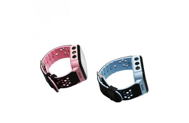 Детские часы с GPS-трекером T7 (gm 11) розовый и синий цвет