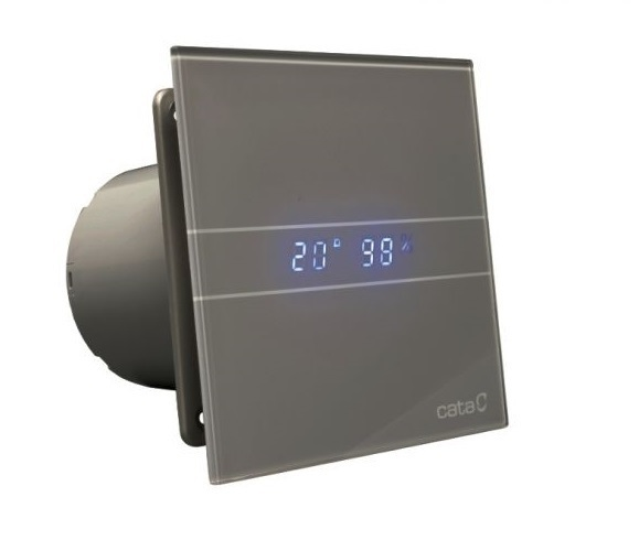 Cata E glass series Накладной вентилятор Cata E 100 GSTH Silver (Влажность, таймер, термометр, дисплей) + обратный клапан 6f7b36affa4a268120fbdcdae4e12673.jpg