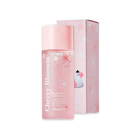 Средство для снятия макияжа MERBLISS Wedding Blossom Lip & Eye Remover 80ml