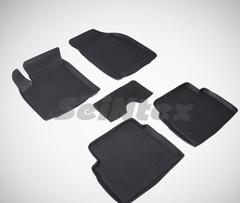 Резиновые коврики для CHEVROLET AVEO высокий борт