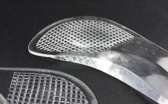 Полустельки для открытой обуви с поддержкой стопы, 1 пара
