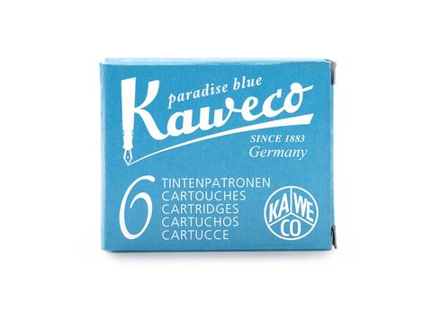Набор картриджей небесно-голубой 6 штук в картонной упаковке