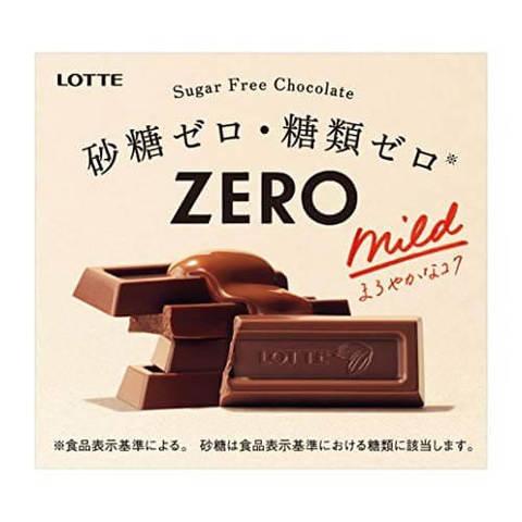 Шоколад Лотте Lotte ZERRO Молочный без сахара для диабетиков 50г