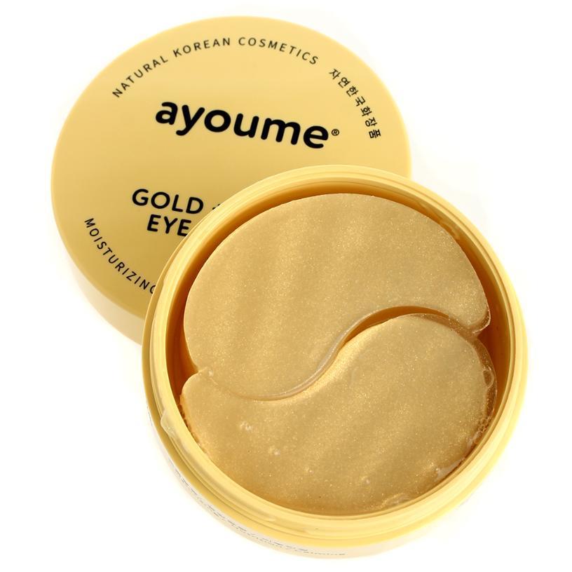 Каталог Патчи для глаз омолаживающие с золотом и улиточным муцином  AYOUME GOLD+SNAIL EYE PATCH 1,4гр*60 961fe493c283c99d1becdf8c77951f24.JPG