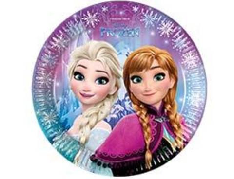 Тарелка Frozen Сев сияние 23см 8шт