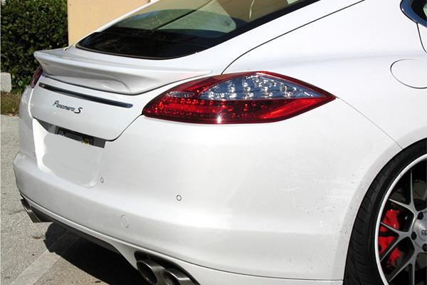 Лип спойлер SpeedArt Style на Porsche Panamera 2010-2012г