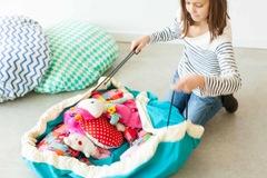Коврик-мешок для игрушек (2 в 1) Play&Go Classic БИРЮЗОВЫЙ 79954 - 3
