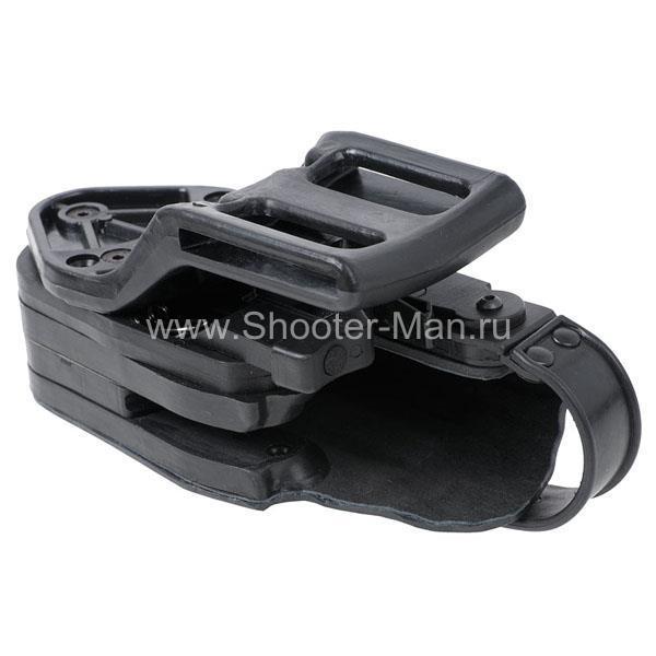 Кобура пластиковая автоматическая для пистолета Стечкина