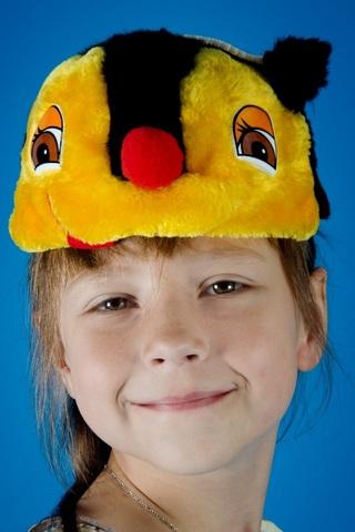 Карнавальная шапочка Пчёлка