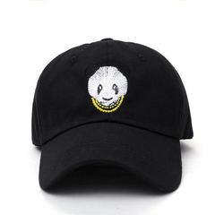 Кепка с пандой черная (Бейсболка с пандой черная)