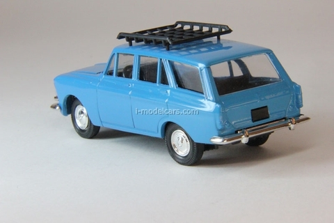 Moskvich-426 with roof rack blue Agat Mossar Tantal 1:43