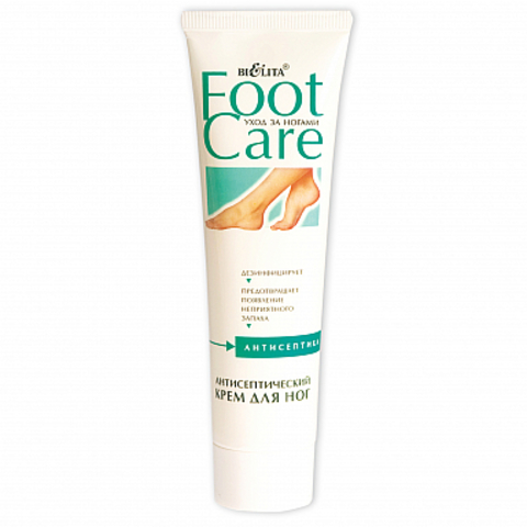 Белита Foot Care Антисептический крем для ног 100мл