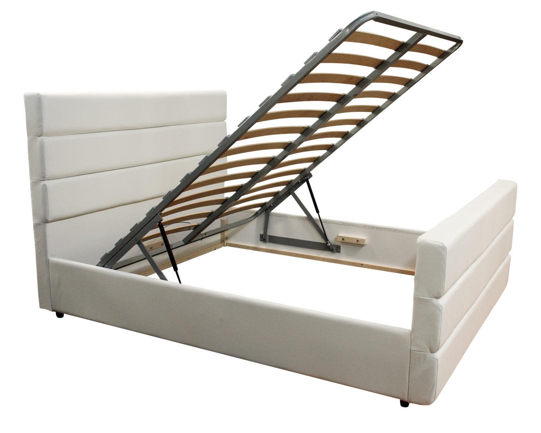 нестандартная кровать Марсель с изножьем