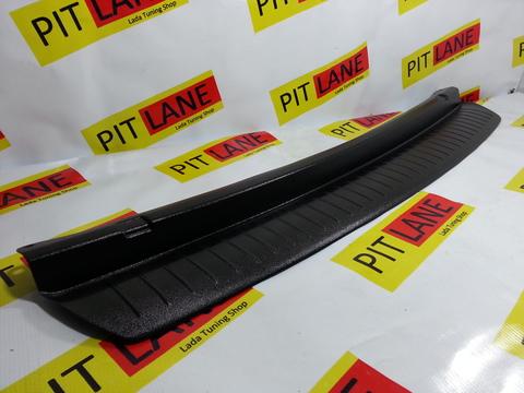 Накладка на задний бампер пластиковая Лада Приора 2 седан.
