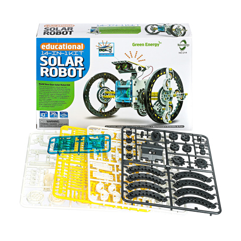 Конструктор на солнечных батареях 14 В 1 EDUCATIONAL SOLAR ROBOT