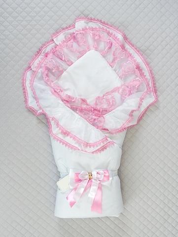 Летний конверт-одеяло Beautiful розовый