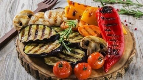 Овочевий шашлик
