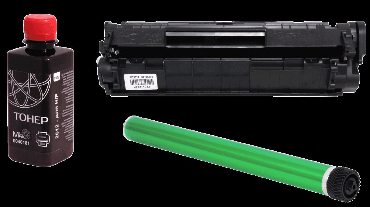 Заправка HP CB400A (№642) черный / black (без стоимости чипа)