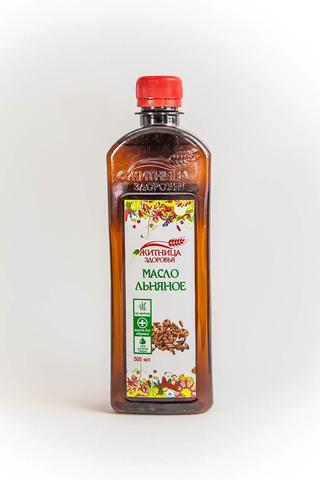 Масло Льняное, 500 мл. (Житница здоровья)