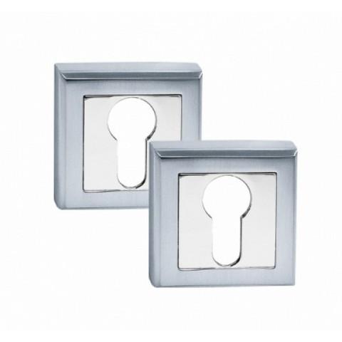 Ключевая накладка  квадратная CLS BSL матовый алюминий Palidore