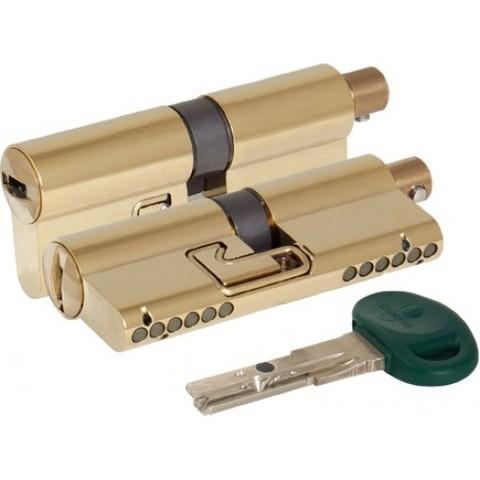 Цилиндр с поворотной ручкой 62мм С31F314101RC5OT латунь (Mottura)