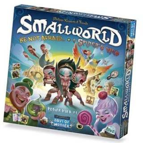 Small World: Be Not Afraid & A Spider Web
