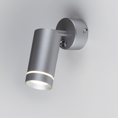 Glory SW LED серебро настенный светодиодный светильник MRL LED 1005