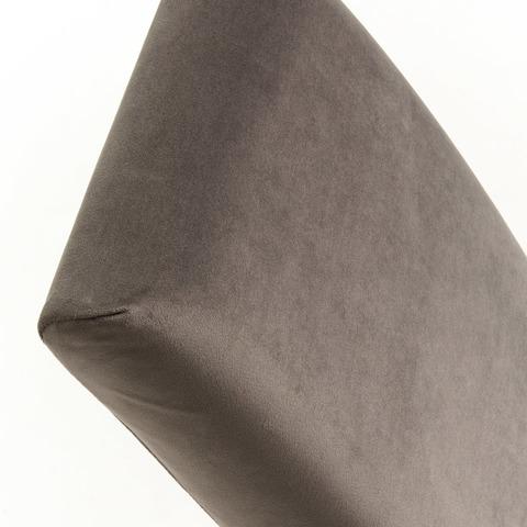 Стул Freia серый бархат ножки черные