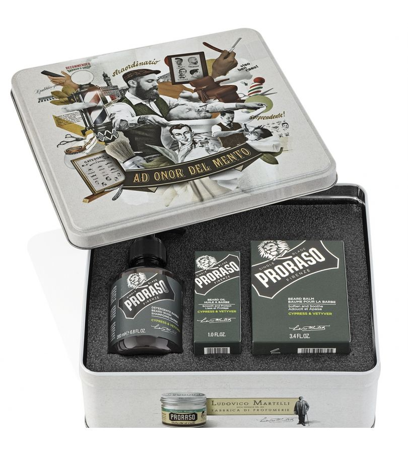 Подарочный набор Proraso Cypress & Vetyver