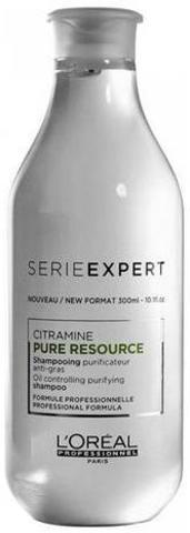 Очищающий шампунь для жирных волос, Loreal Pure Resource, 300 мл.