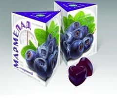 Мармелад на агар-агаре Черника, 150 гр. (Сиб-Крук)