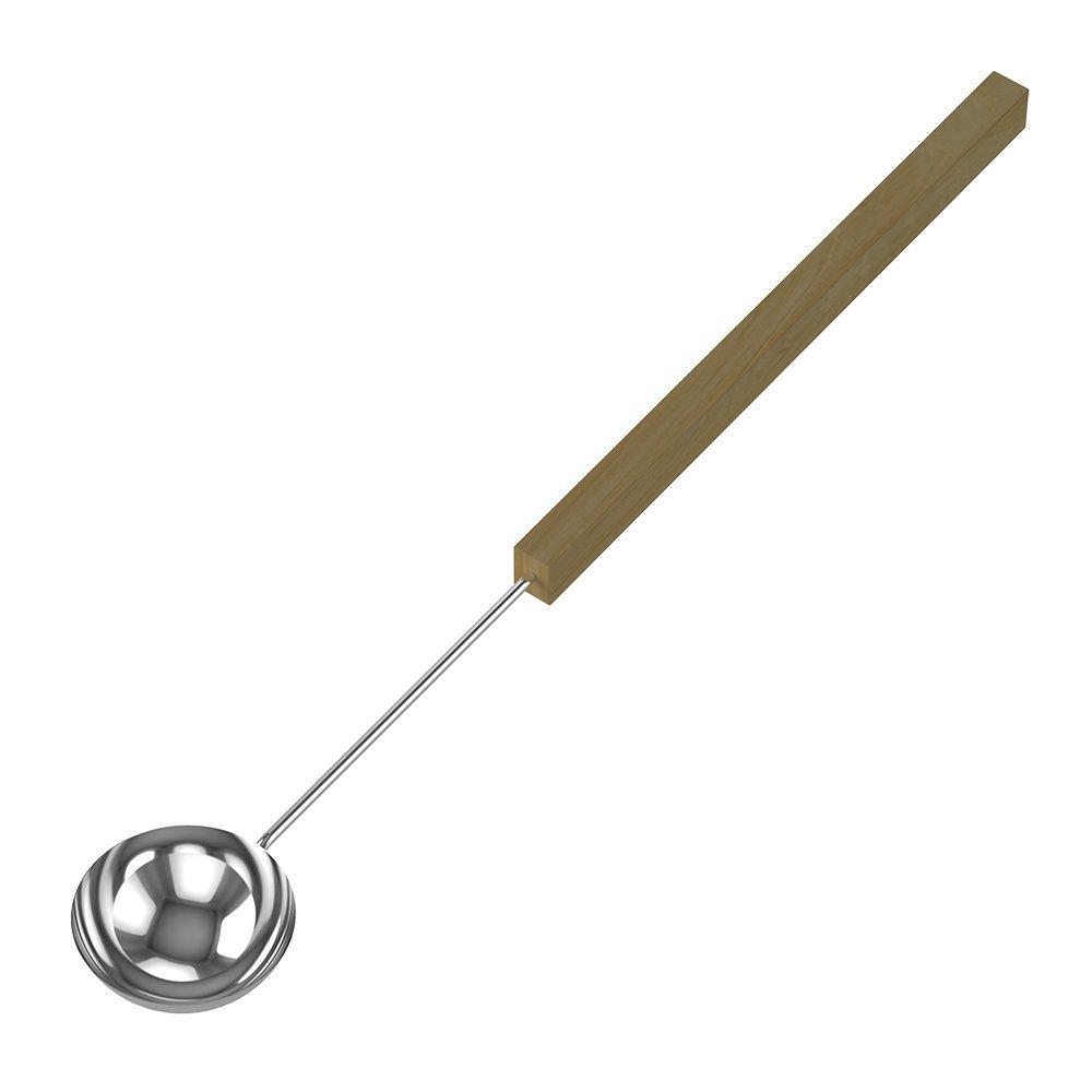 Ведра и кадушки: Черпак SAWO 446-MD (из нержавейки с деревянной ручкой)