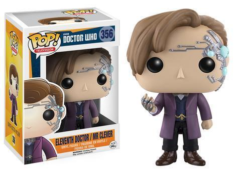 Фигурка Funko POP! Vinyl: Doctor Who: 11th Doctor / Mr Clever 10681