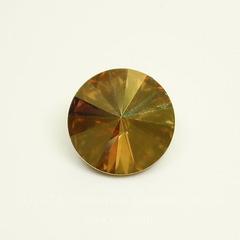 1122 Rivoli Ювелирные стразы Сваровски Crystal Metallic Sunshine (12 мм)
