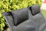 Шезлонг плетеный Concept Double black