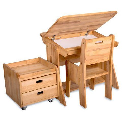 Парта+стульчик+тумба для дома Школярик