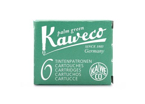 Набор картриджей пальмовый зелёный 6 шт в картонной упаковке