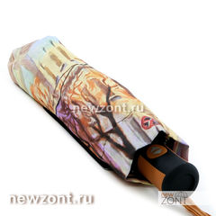 Зонтик женский складной автомат Magic Rain осенняя Москва