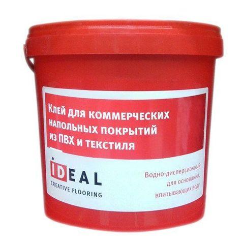 Клей Ideal для коммерческих напольных покрытий из пвх и текстиля 5л (7 кг)