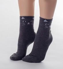 VN075 носки женские, ассортимент 36-41 (3шт)