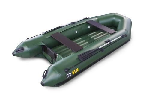 Надувная ПВХ-лодка Солар SL - 350 (зеленый)