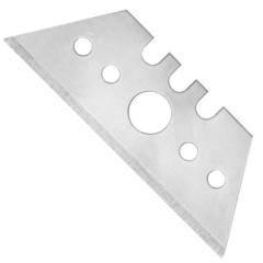 Лезвия сменные для универсальных ножей Attache Selection 18 мм трапециевидные (10 штук в упаковке)