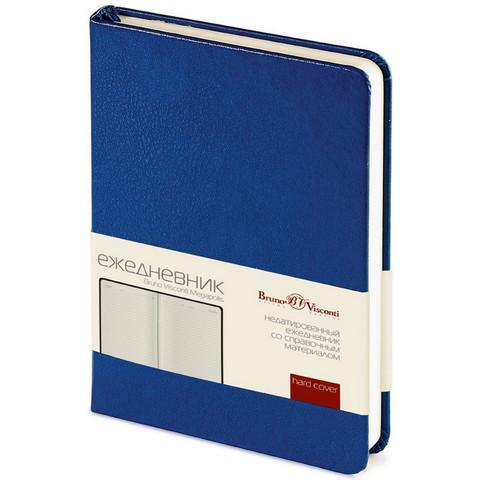 Ежедневник недат,синий,А6,87х130мм,100л,Br.V.MEGAPOLIS